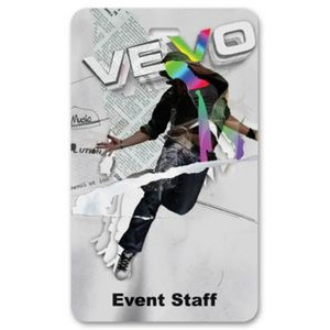"Laminated Event Tag (3""x5"") Rectangle"