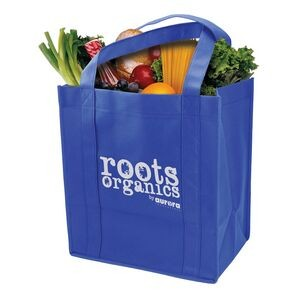 Grocery Tote Bag W/Reinforced Base