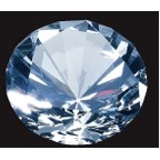 Diamond Paperweight - Medium