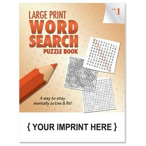 LARGE PRINT Word Search Puzzle Book - Volume 1