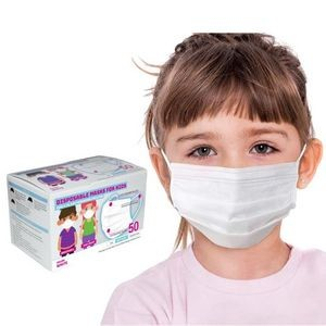 Children Size 3 Ply Face Mask - Animated Designs