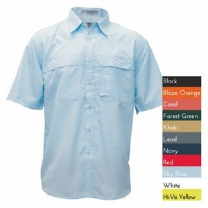 Men's Pescador Polyester Short Sleeve Fishing Shirt