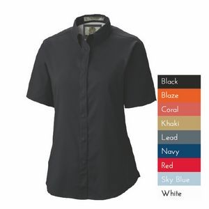 Ladies Pescador Polyester Short Sleeve Fishing Shirt