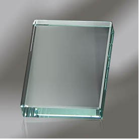 Flat Edge Crystal Paperweight