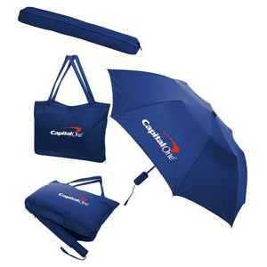 All-In-One Tote Bag/Folding Umbrella