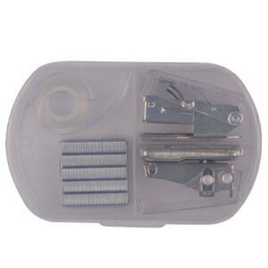 Tape Case Set w/ Hole Punch & Stapler