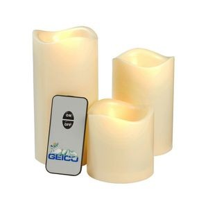 LED Candle Set with Remote Control