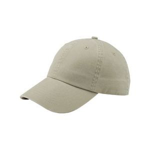 Unstructured PET Spun Washed Cap