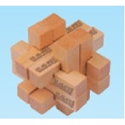 12 Piece Wooden Block Puzzle