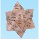 6 Piece Wooden Star Puzzle