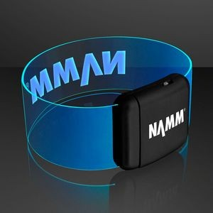 Cosmic Blue LED Neon Bracelets