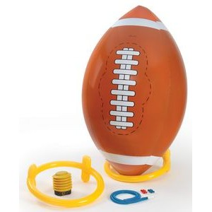 4 Foot Inflatable Football With Tee