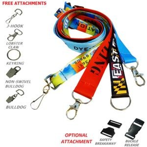 "3/4"" Dye-Sublimation Lanyard (20mm)"