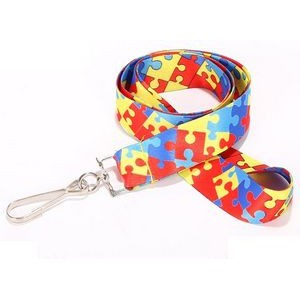 "3/4"" Dye-Sublimation Lanyard - 25 pcs Minimum"