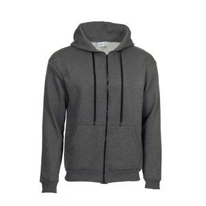 Hooded Sweatshirt with Full Zipper